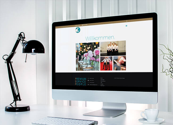 Premium Servive People Weiden WordPress Webdesign